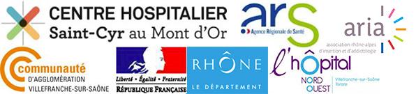 Logos partenaires maison des ados